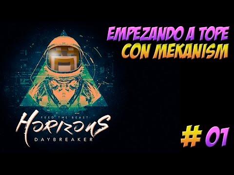 HORIZONS en español | ep 1 | Empezando a tope con mekanism