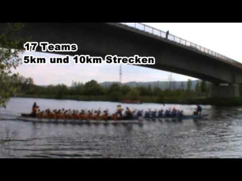 Drachenboot  Langstrecken Rennen in Merzig