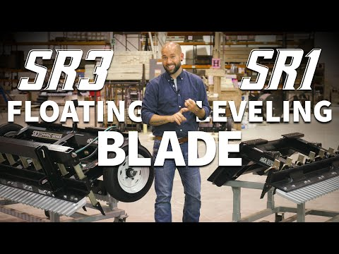 Skid Steer Leveling Attachments: Floating Leveling Blade – ABI Dirt