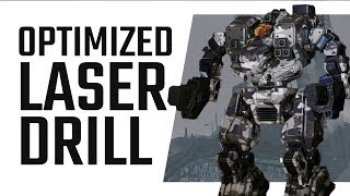 The optimized Laser Drill Hellbringer - Mechwarrior Online The Daily Dose #311