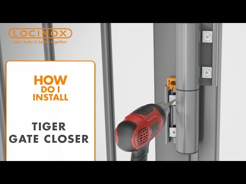Installation video for Locinox Tiger Hinge | Edgesmith