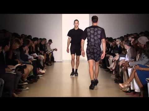 Calvin Klein Collection Men's Spring 2013 Runway Show - презентация одежды Calvin Klein