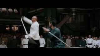 Jet Li's Fearless - Final Fight Scene