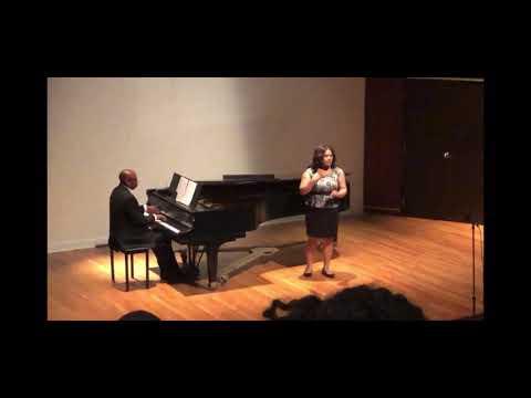 Jewel Song Faust Denaye Bolden | Soprano Dr. Jones l Accompanist