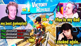 Tfue FREAKS OUT after WINNING DUO FNCS! MOST INTENSE Fortnite Pro Game Ever!