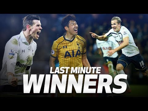 SPURS' MOST DRAMATIC INJURY-TIME WINNERS | ft. Harry Kane, Gareth Bale and Heung-min Son!