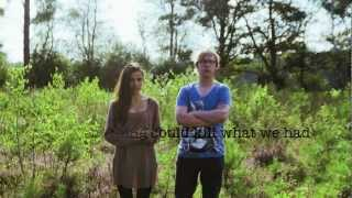 """Strange"" by Rogier Pelgrim and Angela Moyra (Lyric Video)"