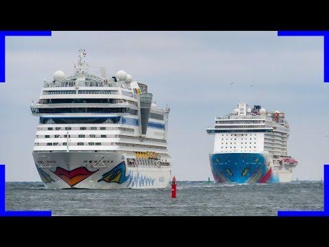 Traumurlaub in Warnemünde Juli 2018 | Mega Hotel | Kreuzfahrtschiffe | Shipspotting |