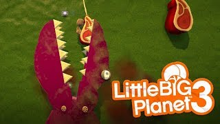 LittleBIGPlanet 3 - Dinosaur Island 3 [FEISTYFROG] - Playstation 4 Gameplay