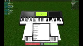 Dangerous Woman Virtual Piano Roblox Most Popular Videos - song notes for roblox got talent