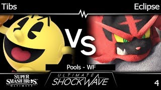 USW 4 - HMO | Tibs (Pac-Man) vs Eclipse (Incineroar) Pools - WF - SSBU