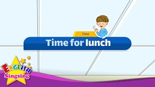 [Time] Time for lunch  - Easy Dialogue - Role Play