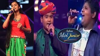 Indian Idol Junior 2 Contestants Mesmerized Judges Their