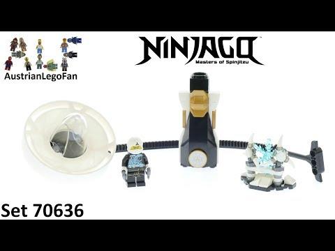 Vidéo LEGO Ninjago 70636 : Zane - Maître du Spinjitzu