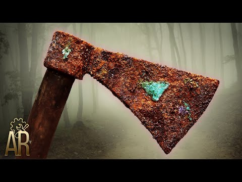 An Incredible Restoration of an Ancient Axe
