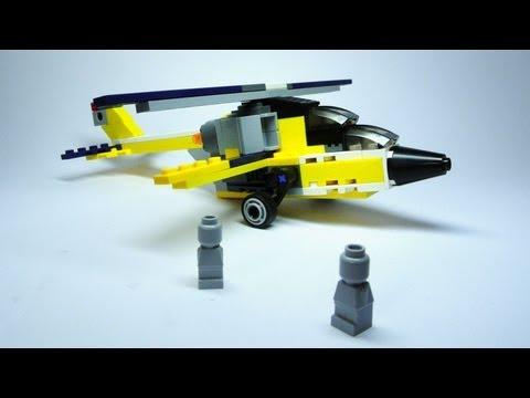 Vidéo LEGO Creator 6912 : L'avion à réaction