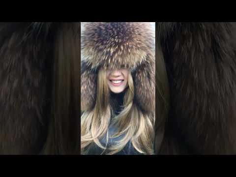 DIY-001 Arctic-store.com Russian raccoon full fur ushanka hat for men and women