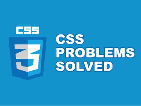 CSS Tricks : CSS Problems Solved