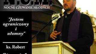 preview picture of video 'ks. Robert Sierociuk - Nocne Czuwanie Młodych 24.02.2012'