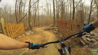 Lap around the Green Trail, showcasing most interesting features.