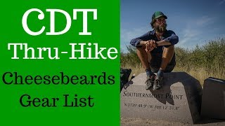 Triple Crowner Gear For The Continental Divide Trail