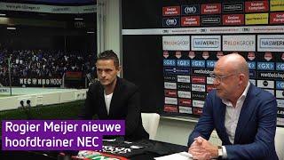 Rogier Meijer nieuwe hoofdtrainer NEC