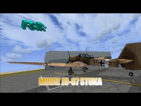Steam Community :: Video :: FSX Review - MilViz Junker JU-87
