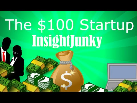 START A BUSINESS IN YOUR PJs – The $100 startup | Animated Book review & Summary