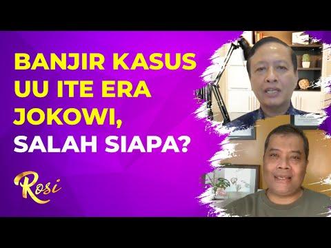 UU ITE Dibuat di Era SBY, Makan Banyak Korban di Era Jokowi. Siapa Yang Salah? | ROSI