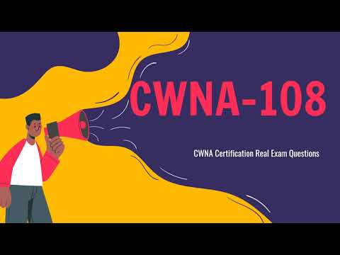 CWNA-108 Certified Wireless Network Administrator Questions ...