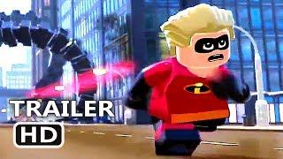 LEGO The Incredibles Official Trailer # 2 (2018)