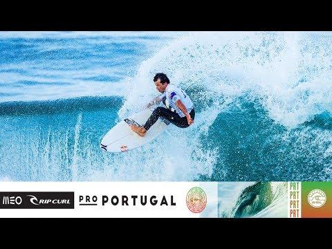Wright vs. Buchan vs. Wilson - Round Four, Heat 4 - MEO Rip Curl Pro Portugal 2018