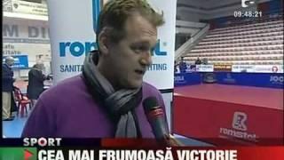Romania - Hungary 3 - 0 tennis table women Romanians victory