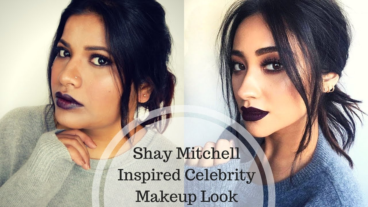 Shay Mitchell Vampy Fall or Winter Inspired Celebrity Makeup Tutorial Episode 5