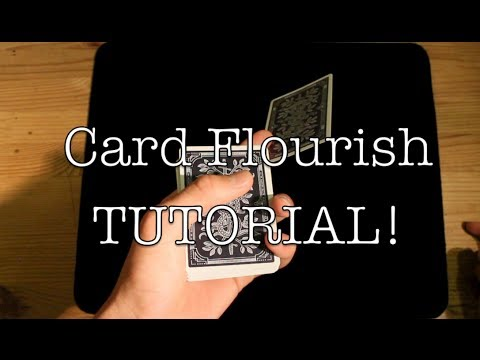 Bullet//Card Flourish Tutorial//Learn Cardistry