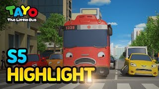 Tayo S5 EP14 Thank you, Gani! l Tayo S5 Episode Highlight l Tayo the Little Bus