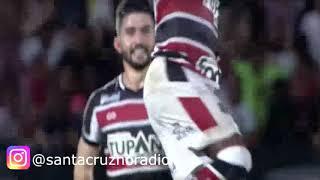 25.4.19 - Santa Cruz 2 (2) X (3) 0 Fluminense/RJ - Rádio Jornal