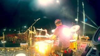 Drum Cam Javier Linares en concierto Anna Carina - Tributo a Pedro Suarez Vertiz