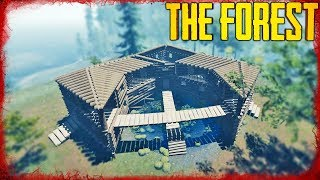 HOW TO BUILD THE POND HOUSE | The Forest
