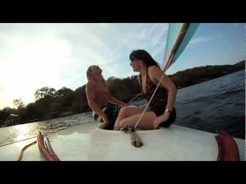 Sunfish Sailing on Lake Austin with Brooke 11/2011 | MicBergsma