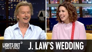 Who's Invited To Jennifer Lawrence's Wedding? (feat. Vanessa Bayer)   Lights Out With David Spade