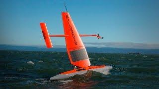 How a fleet of wind-powered drones is changing our understanding of the ocean   Sebastien de Halleux