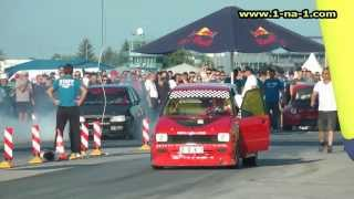 preview picture of video 'Osijek Street Race Show 10 (day 2) - 1na1 trke ubrzanja'