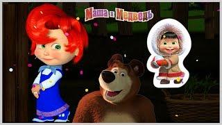Маша и медведь День игр с Машей Творим что хотим Игры на канале Best Kids Apps