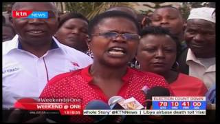 Cecily Mbarire throws her support for  Kithinji Kiragu under PNU ticket