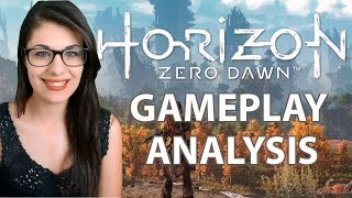 Horizon Zero Dawn Gameplay & Analysis PS4