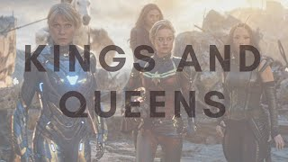 Girls of Marvel || Kings & Queens by Ava Max [girl power!]