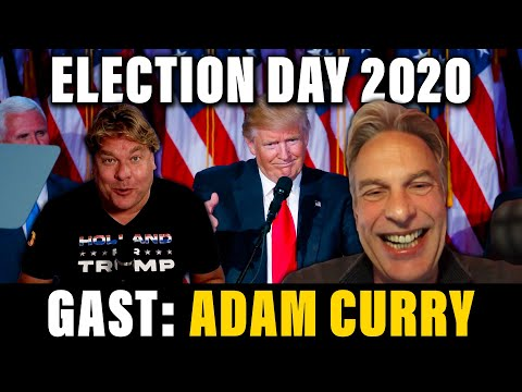 ELECTION DAY 2020 - GAST: ADAM CURRY - DE JENSEN SHOW