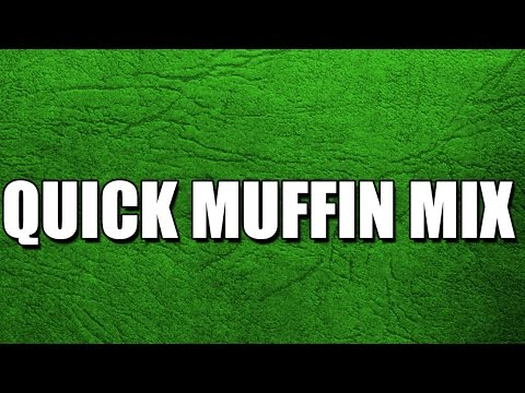 QUICK MUFFIN MIX - MY3 FOODS - EASY TO LEARN