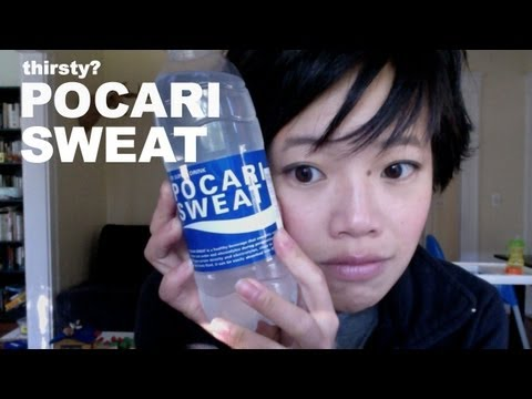 Drinking Pocari Sweat – Thirsty? #7